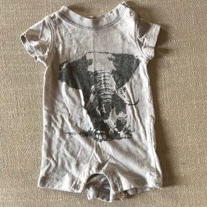 Other - Baby GAP elephant romper size 3-6 mos